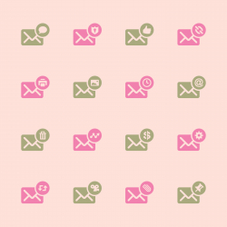 Email Icons Set 2 - Color Series | EPS10