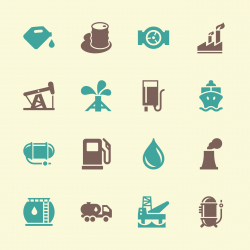 Fuel Industry Icons - Color Series